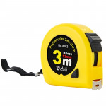 deli Retractable Ruler Measuring Tape Portable Pull Ruler Mini Tape Measure, Length: 3m