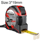 Aoben Retractable Ruler Measuring Tape Portable Pull Ruler Mini Tape Measure, Length: 3m Width: 19mm