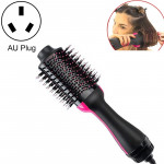 Multifunctional Infrared Negative Ion Hot Air Comb Straight Curling Hair Style Comb, AU Plug