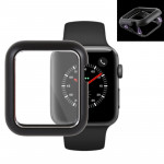 Magnetic Metal Frame Protective Case for Apple Watch Series 3 & 2 42mm(Black)