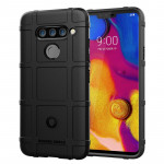Full Coverage Shockproof TPU Case for LG V40 ThinQ (Black)