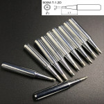 10 PCS 900M-T-1.2D Small D Type Lead-free Electric Welding Soldering Iron Tips
