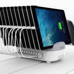 ORICO DUK-10P 120W 10 USB Ports Smart Charging Station with Phone & Tablet Stand, For iPhone, Galaxy, Huawei, Xiaomi, HTC, Sony