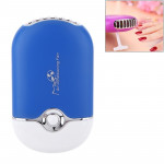 Portable Handheld Mini Pocket USB Air Conditioning Cooling Fan Grafted Eyelashes Dryer (Blue)