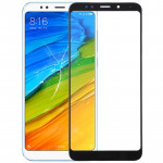 Front Screen Outer Glass Lens for Xiaomi Redmi 5 Plus (Black)