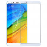Front Screen Outer Glass Lens for Xiaomi Redmi 5 Plus (White)