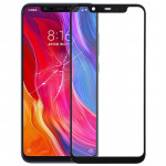 Front Screen Outer Glass Lens for Xiaomi Mi 8 (Black)