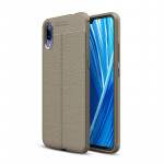 Litchi Texture TPU Shockproof Case for Vivo X23 Symphony Edition (Grey)