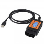 Outil de scanner diagnostique de l'interface USB OBDII de Ford - Wewoo