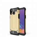 Magic Armor TPU + PC Combination Case for Galaxy A6s (Royal gold)