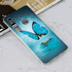 Luminous Butterfly Pattern Shockproof TPU Protective Case for Galaxy A9 (2018) / A9s