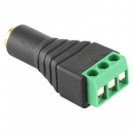 3.5mm Female Plug 3 Pin Terminal Block Stereo Audio Connector