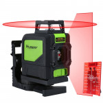 901CR H360° / V130° Laser Level Covering Walls and Floors 5 Line Red Beam IP54 Water / Dust proof(Red)