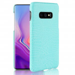 Shockproof Crocodile Texture PC + PU Case for Galaxy S10 Lite (Green)