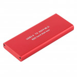 Richwell SSD R16-SSD-120GB 120GB 2.5 inch USB3.0 to NGFF(M.2) Interface Mobile Hard Disk Drive Box(Red)
