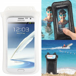 IPX8 Highest Grade Flexible Water-proof / Dirt-proof Bag with Neck Strap, Suitable for Galaxy Mega 5.8 / i9150 / N7100 / Note II