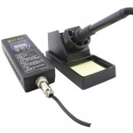BEST BST-9936 AC 220V Hand Held Type Thermostatic Soldering Station Anti-static Electric Iron, EU Plug(Black)