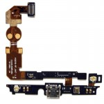 iPartsBuy USB Charging Connector Port Flex Cable & Microphone Flex Cable for LG Lucid 2 / VS870