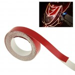 Car Decoration Reflective Tape, Size: 1cm x 5m(Red)