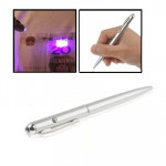 Magic Trick - Invisible Ink UV Light Pen(Silver)