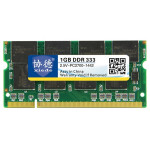 XIEDE X008 DDR 333MHz 1GB General Full Compatibility Memory RAM Module for Laptop
