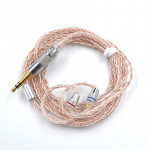 KZ A Copper-silver Mixed Plated Upgrade Cable for KZ ZS3 / ZS4 / ZS5 / ZS6 / ZSA Earphones