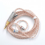 KZ B Copper-silver Mixed Plated Upgrade Cable for KZ ZST / ZS10 / ES4 / AS10 / BA10 Earphones
