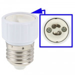 GU10 to E27 Light Lamp Bulbs Adapter Converter