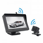 PZ612-W IP67 120 Degree Car Rearview Mirror Monitor