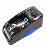 Electric Easy Automatic Cigarette Rolling Machine Tobacco Injector Maker Roller EU Plug(Blue)