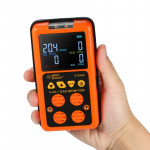 ST8900 4 in 1 Toxic Gas CO Carbon Monoxide Detector Hydrogen Sulfide H2S Oxygen Combustible Gas Test LCD Display Monitor, Sound