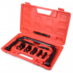 9 In 1 Valve Clamps Spring Compressor Automotive Tool Set Repair for Car Motorcycle