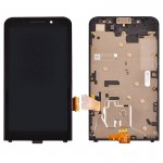 iPartsBuy for BlackBerry Z30 (4G Version) LCD Screen + Touch Screen Digitizer Assembly with Frame(Black)