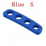 Silicone Shot Lock Basketball Ball Shooting Trainer Training Accessories(Blue S)