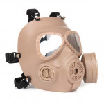M04 Gas Mask Use For Tactical Competition Dummy Gas Mask Wargame Cosplay Mask(Khaki)
