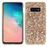 Glitter Powder Shockproof TPU Protective Case for Galaxy S10+ (Gold)