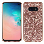 Glitter Powder Shockproof TPU Protective Case for Galaxy S10 (Rose Gold)