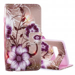 Lotus Pattern Horizontal Flip Leather Case for Galaxy S10e, with Holder & Card Slots & Wallet