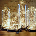 Christmas Decoration Light Copper Wire LED String Light Wedding Garland LED Lamps Christmas Tree Ornaments