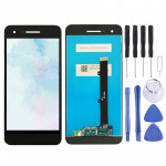 LCD Screen and Digitizer Full Assembly for Vodafone Smart V8 VFD710(Black)