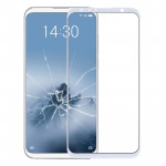 Front Screen Outer Glass Lens for Meizu 16 (White)