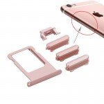 iPartsBuy Card Tray Replacement for iPhone 6s Plus(Rose Gold )