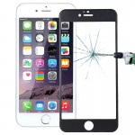 0.26mm 9H+ Surface Hardness 2.5D Curved Surface Full Screen Cover Explosion-proof Tempered Glass Film for iPhone 6s(Black)