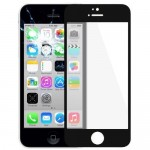 iPartsBuy for iPhone 5C Front Screen Outer Glass Lens(Black)