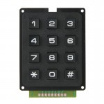 3x4 12 USE Keys Keypad Module