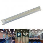 15W / 1140LM High Quality Tensile Aluminum Material Warm White Light LED Energy Saving Light Tube, Base Type: PL