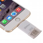 Clé USB pour iPhone 6 & 6s, 6 Plus et 6s Plus, 5 & 5C & 5S 16Go Lightning USB iDrive iReader Flash Memory Stick - Wewoo