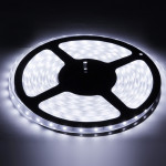 Casing Waterproof White 6000-6500K LED 3528 SMD Rope Light, 60 LED/M, Length: 5M