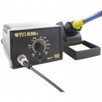 BEST BST-936E AC 220V Thermostatic Soldering Station Anti-static Electric Iron(Black)