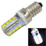 E14 3.5W White Light 240LM 32 LED SMD 2835 Silicone Corn Light Bulb, AC 220V